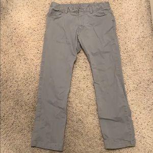 Mens Calvin Klein khaki dress pants